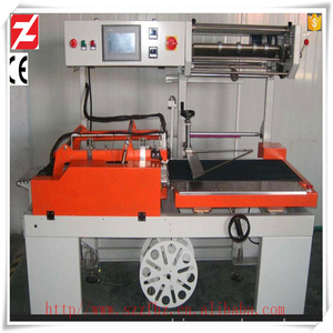 L type vertical automatic pet bottle heat shrink sleeve wrapping machine sealing machine for sealing and packaging