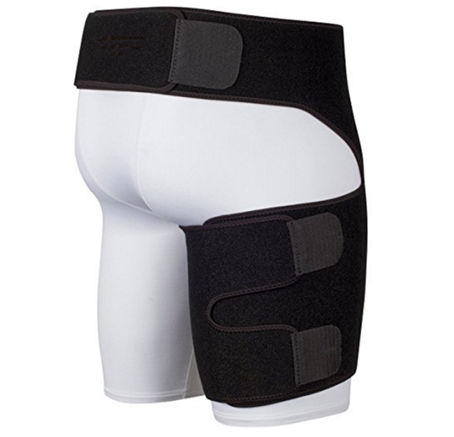 hot selling Thigh Compression Sleeve/ Groin Wrap/ Groin Strain Pain Support for Hip Injury