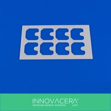 Good Thermal Shock Resistance Zirconia Ceramic Substrates With Excellent Quality/Innovacera