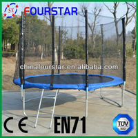 Inflatable Trampoline Kids Jumping Bed Sport Equipment Bungee Exercise Trampoline SX-FT(E)10FT-A