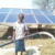 Solar water pump 50m head for home use