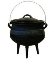 Three Leg High Quality Cast Iron Pot