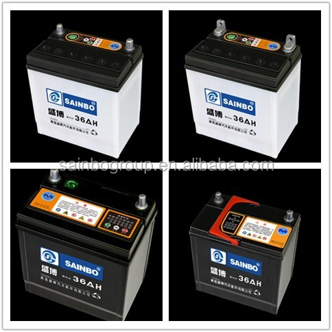 Export High quality 12V 45ahsmf Sealed maintenance free lead acid car battery 17081202