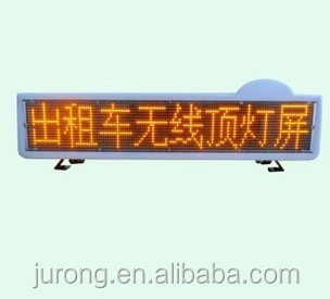 electronic advertising board ,P6 top sign amber moving led sign displays