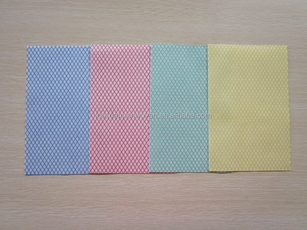50g/m2,33x50cm/pc,pack of 50, lightweight all purpose cloths,all purpose non-woven cloths