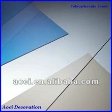 transparent roofing material clear plastic roofing sheet polycarbonate solid sheet