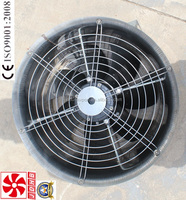 Axial Flow Fan for Hen House anf Greenhouse Planting