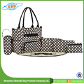 Alibaba china new products 5pcs diaper bag set for baby manufacturer
