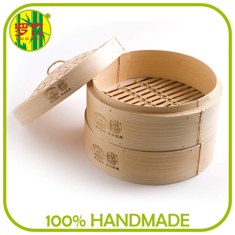 Bamboo weaving Durable electric tamale steamer