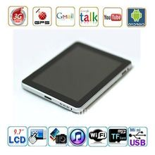 9.7 inch Capacitive screen Android2.2 Talet PC Support 3G WIFI Bluetooth