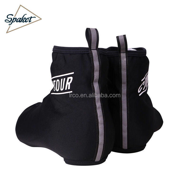 Spakct new quality shoe covers spandex reflective waterproof over shoe