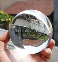 Solid Crystal Glass Colorful Ball Shining Ball Pink Glass Globe