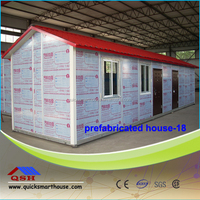 prefab movable house, construction site
