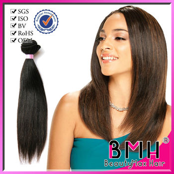 High quality perfect natural straight brazilian hair