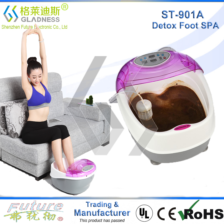 Favorites Compare 2015 Wholesale Foot Spa Machine Hot Sale , Ion Detox Foot Bath with Basin Foot Spa Commercial