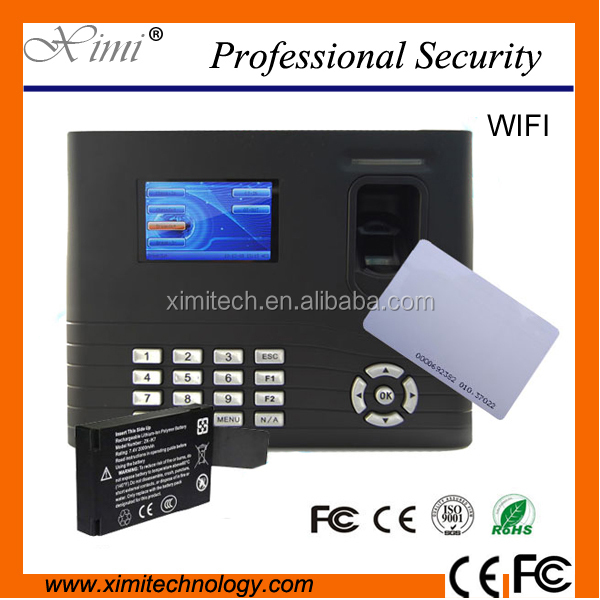 Fingerprint reader rfid card tcp/ip IN01-A optional WIFI GPRS TCP/IP fingerprint time attendance access control