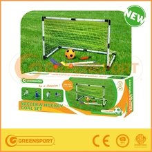 Soccer goal with ball and sticks / multi sports training/Custommized packing priting