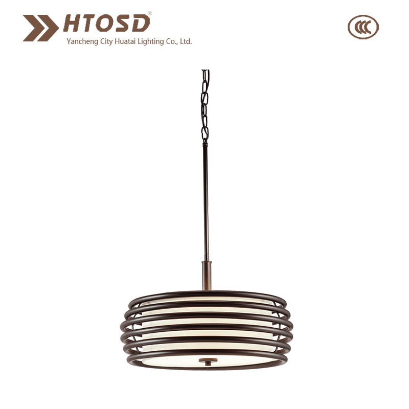 HTMP0005 Latest Modern Decorantive Metal Cage Mini Pendant Lighting for Hotel