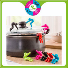 spill-proof silicone cooking tool pan accessory silicone kitchen accessories