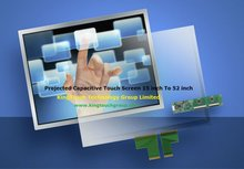 "42"" surface/projected capacitive touch screen"