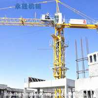 Made In China Export TC4708 Self Erecting Tower Crane for Construction Machinery