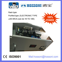 HOSSONI,Electronic type, Purified voltage regulators ,JJW-5kva,AVR,Rack type