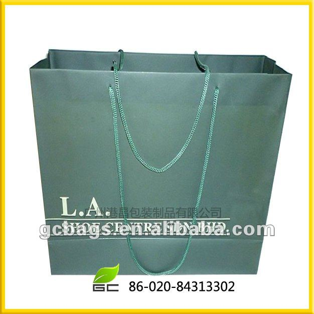 high effect paper bags manufacturing process in China