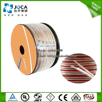 Blister packing transparent speaker cable CCA BC