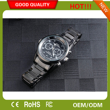 HD9712 illumination photosensitive chip 1080p waterproof watch camera night vision with watch model hidden camera