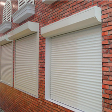 aluminium rolling shutter automatic roller electric window shutters exterior