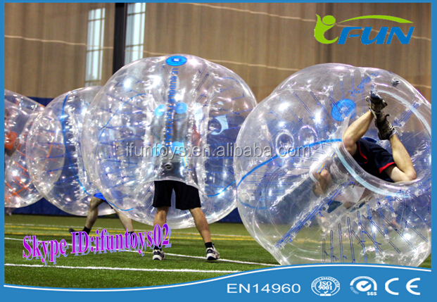 inflatalbe bubble ball for football sport/human bubble ball/air bubble ball