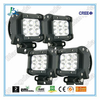 Super hot sale mini 4'' 18w led light bar with c.r.ee led chips led work light bar offroad