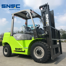 SNSC diesel forklift 5 ton for cargo lifting