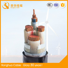 0.6/1kv copper or aluminum conductor xlpe insulated steel tape armored power cable 3 core or 4 core