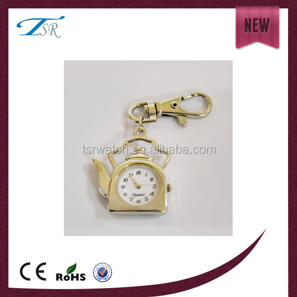 chains pocket novelty keychain watches with metal band