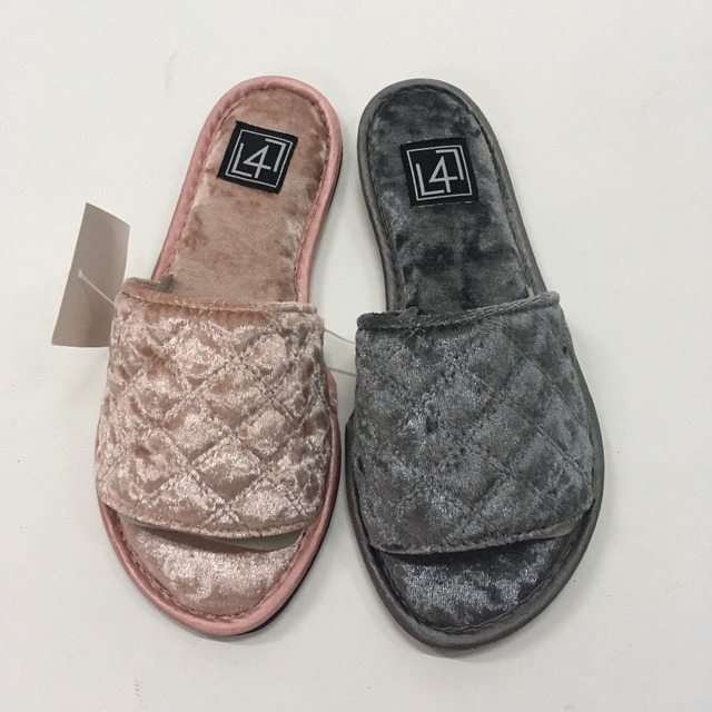 Korea Fleece Custom Velvet Slippers