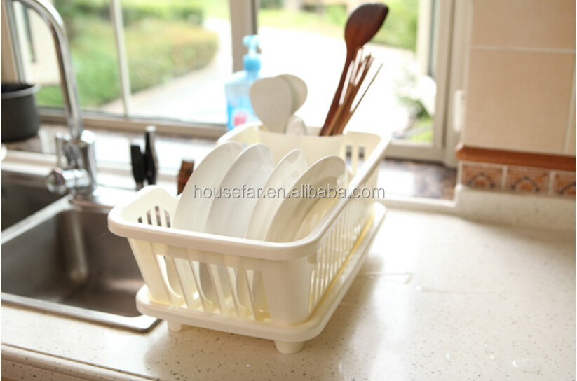 Storage Holders & Racks Type and Plastic Material kitchen dish rack