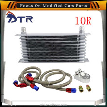 Universal 383*190*20mm Aluminum Remote Transmission Oil Cooler kit / Auto-Manual transmission oil cooler Converter OCK-017