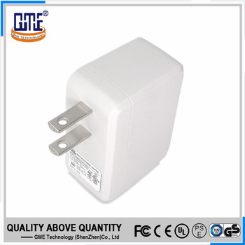 America type UL FCC certified CEC VI 5v 1a wall adapter