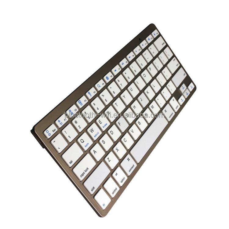 hot selling Mini Bluetooth Keyboard, wireless keyboard for Apple MAC