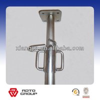 straight lock pin 2.2-3.9m shoring prop scaffolding supporting concrete