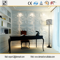 Eco Friendly Interior Decoration 3d Fiberglass