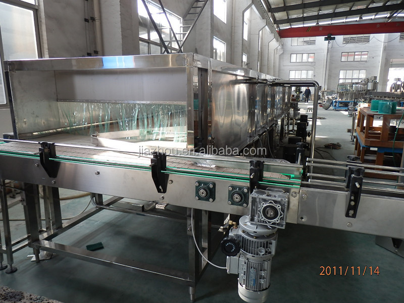 Plastic pet bottle warming/cooling machine