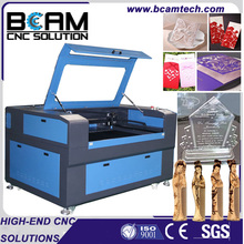 Second hand price China new stone wood laser engraving machine