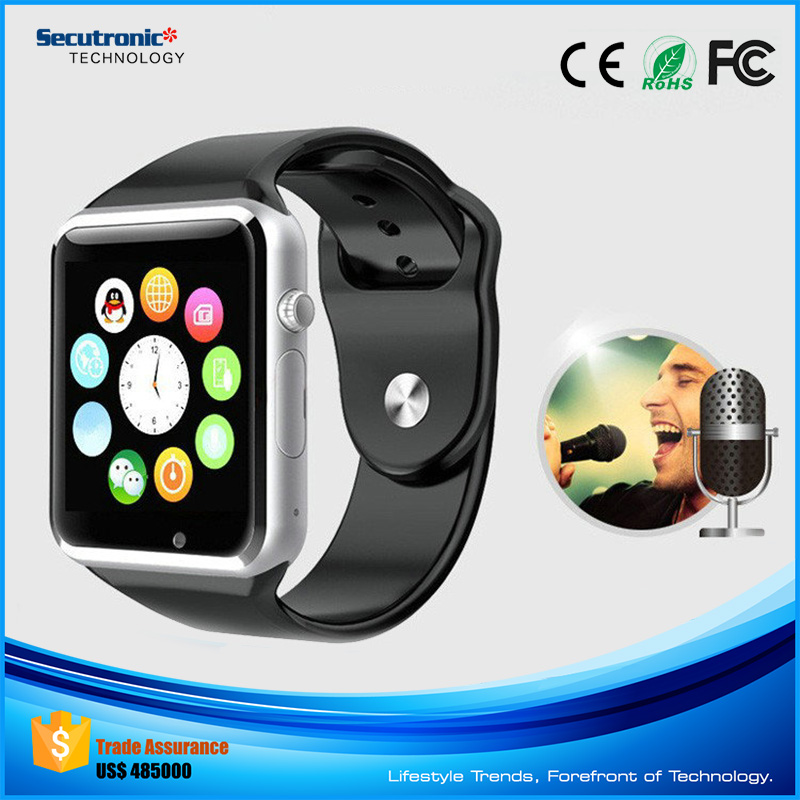 2016 Secutronic A1 Bluetooth Smartwatch Bulk Buy from China with Low Price Of Smart Watch Phone Zopo