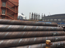 API 5L SSAW Spiral Submerged Arc Welded Carbon Steel Pipe for gas, oil transportation