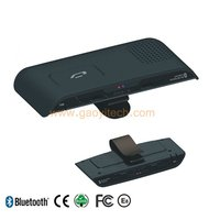 China fashion and new design Sun visor bluetooth handsfree car kit with TTS function