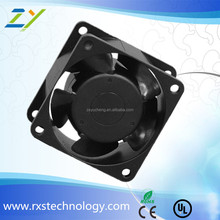 silent exhaust brushless 3d printer 180X180X60mm ac axial fan 220v panel waterproof frame