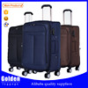 china luggage factory directly selling travel bag trolley luggage 1680D polyester fabric luggage 3 piece