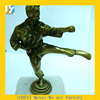 Tae kwon do athlete sculpture